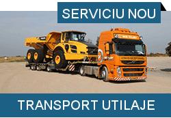 serviciu transport utilaje