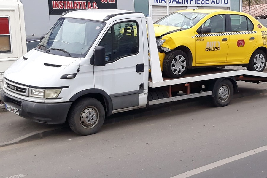 Tractari auto Bucuresti, interventie rapida